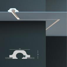 Tesori KD 120 - встраиваемый потолочный молдинг для подсветки