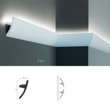 Полиуретановый молдинг-плинтус под подсветку Tesori KF 502