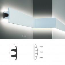 Полиуретановый молдинг-плинтус под подсветку Tesori KF 503