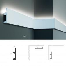 Полиуретановый молдинг-плинтус под подсветку Tesori KF 504