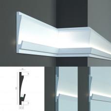 Tesori KD 406 - встраиваемый молдинг для скрытой LED подсветки