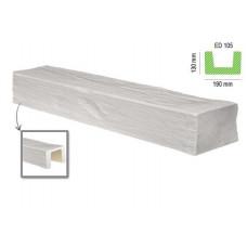 Декоративная балка ED 105 белая