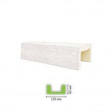 Декоративная балка ED 702 белая