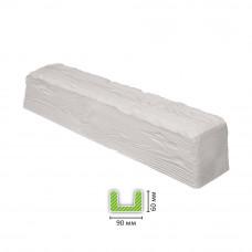 Декоративная балка EQ 107 белая