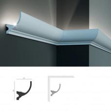 Полиуретановый потолочный карниз под подсветку Tesori KF 715