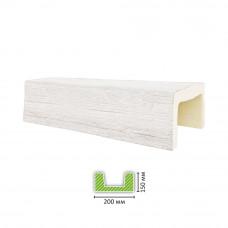 Декоративная балка ED 502 белая