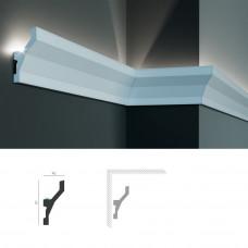 Полиуретановый потолочный карниз под подсветку Tesori KF 719