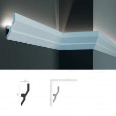 Полиуретановый потолочный карниз под подсветку Tesori KF 720